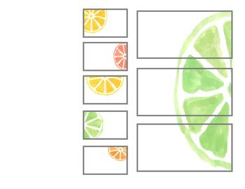 Citrus Fruit Teacher Toolbox