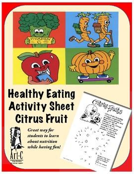 Citrus Fruit Activity Sheet
