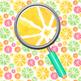 Citrus Fruit Handpainted Watercolor Digital Paper / Backgrounds Clip Art Set