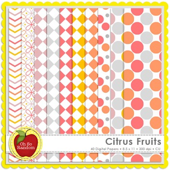 Citrus Fruits {CU Digital Papers}