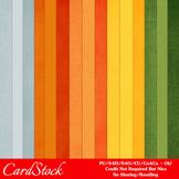 Citrus Fun Colors Cardstock Digital Papers