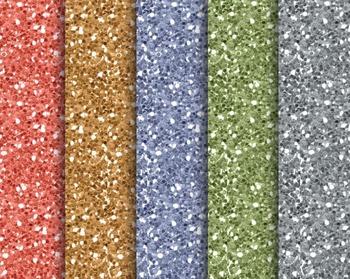 Citrus Glitter Papers, Digital Papers, Glitter Paper Set #128