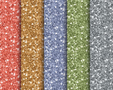 Citrus Glitter Papers, Digital Papers, Glitter Paper Set #128