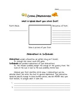 Citrus Observations