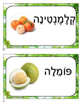 Citrus fruits --- Hebrew
