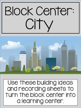 City Block Center- Preschool Learning Centers (Community Helpers)