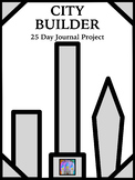 City Builder! 25-Day Writing Journal