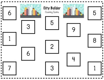 City Builder Counting Centre (1-9)