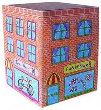 City Building Cube