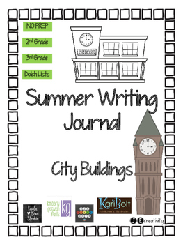 City Buildings Summer Writing Journal
