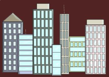 CITY Clip Art Set