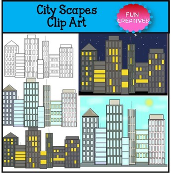CITY Clip Art Set