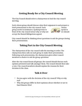 City Coucil Meeting
