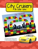City Cruisers Customizable File Folder Game