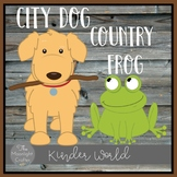 City Dog Country Frog Book Companion