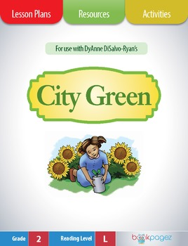 City Green Lesson Plans & Activities Package, Second Grade (CCSS)
