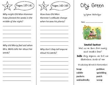 City Green Trifold - ReadyGen 2nd Grade Unit 3 Module B
