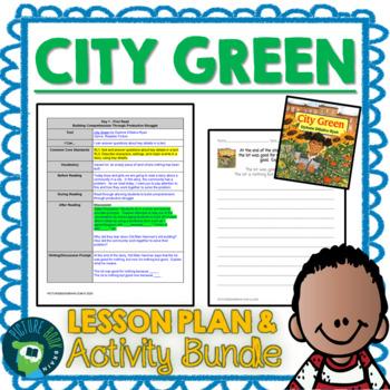 City Green by Dyanne DiSalvo-Ryan 4-5 Day Lesson Plan