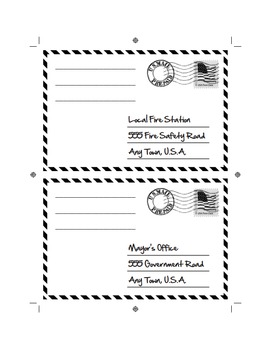 City Helper - Community worker - Postcards