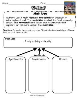 2014 City Homes ReadyGen Lesson 1 Main Idea