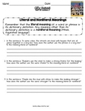 2014 City Homes ReadyGen Lesson 2 Literal and Nonliteral Meanings