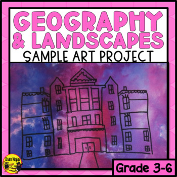 City Landmarks Sample Art Lesson