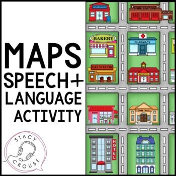 City Map: A Multi-Purpose Resource for Language (No Print)