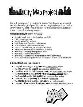 City Map (Parallel Lines) Assignment