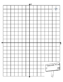 City Map Project (Integers and Coordinate Graphing Project)