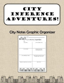City Notes Graphic Organizer