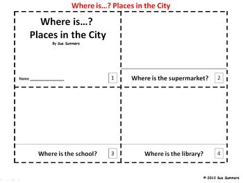 City Places 2 Emergent Readers - ENGLISH