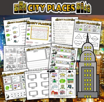 City Places Activity Set