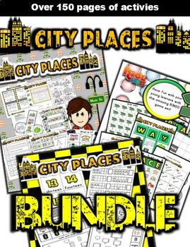 City Places Classroom Center Bundle