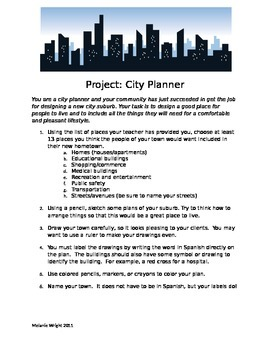 City Planner Project