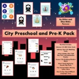 City Preschool and Pre-K Pack #TpT DistanceLearning