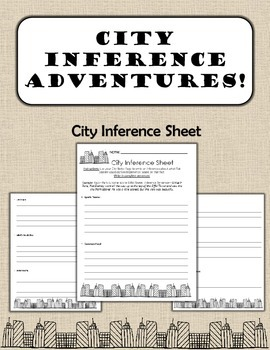 City Inference Sheet