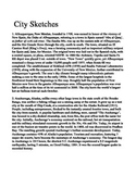 City Sketches Extended Version