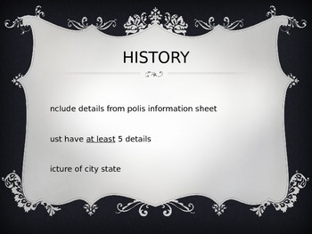 City State Powerpoint Template