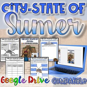 City-State of Sumer Activity {Digital AND Paper}