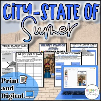 City-State of Sumer Activity