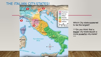 City States during the Renaissance