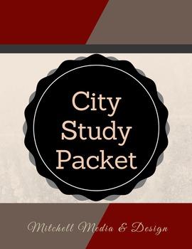 City Study Graphic Organizer