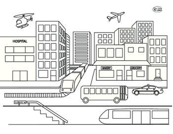 City Transportation Vehicles