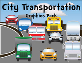 City Vehicles and Transportation Graphics Pack