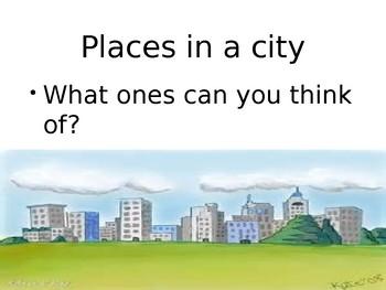 City Vocabulary