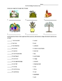 City Vocabulary Quiz - terms from Komm mit level 2