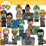 City Workers Clip Art