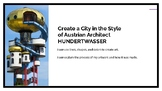 City in the Style of Hundertwasser