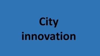City innovation