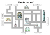 Street map (Telling & asking the way) - Indiquer et demand